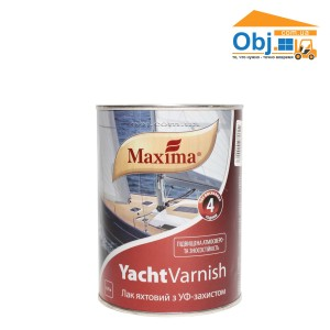 Лак яхтный Maxima Yacht Varnish матовый (0,75л)